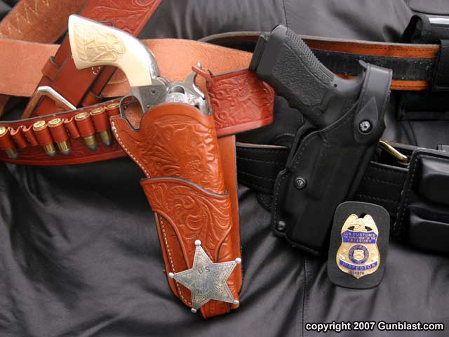 The Evolution of Law Enforcement Handgun Holsters